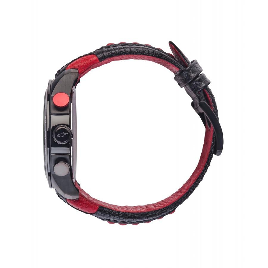 812e726a0 hodinky TECH RACE CHRONO, ALPINESTARS - ITÁLIE (černá/červená, kožený  pásek). Žádné recenze, buďte první!